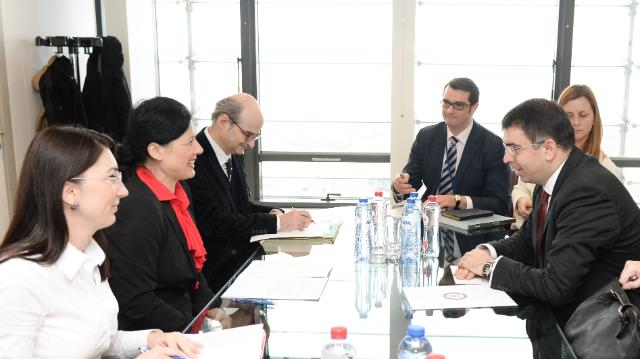 Visit of Robert-Marius Cazanciuc, Romanian Minister for Justice, to the EC