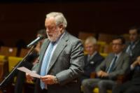 "Illustration of ""Swearing-in ceremony of Miguel Arias Cañete, Member of the EC, at the Court of Justice of the EU"""