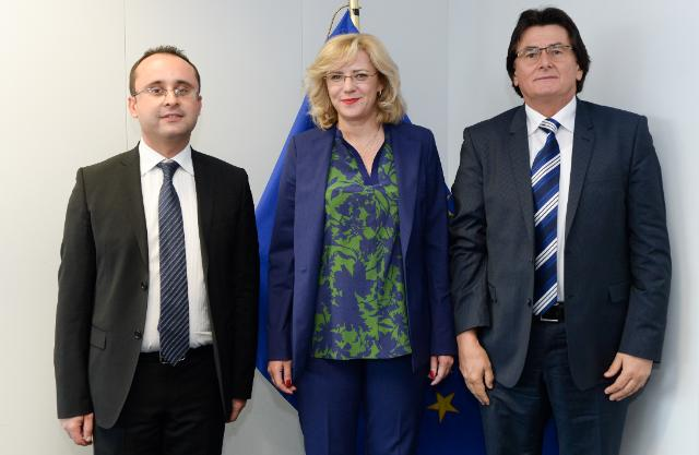 Visit of Cristian-Silviu Buşoi, Member of the EP, Nicolae Robu, Mayor of Timișoara, to the EC