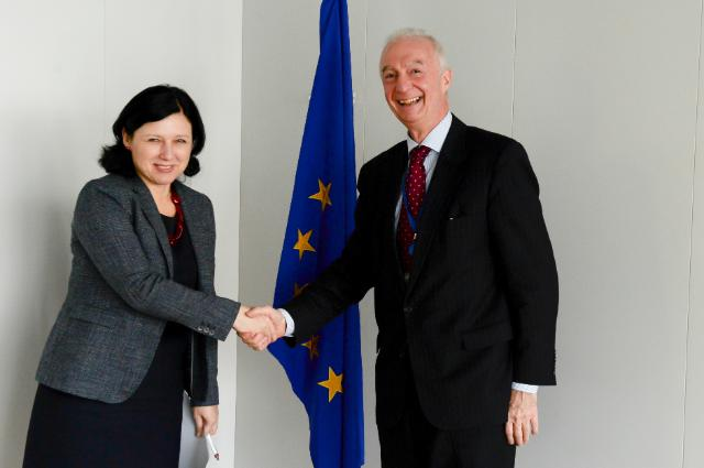 Visit of Gilles de Kerchove, EU Counter-terrorism Coordinator, to the EC