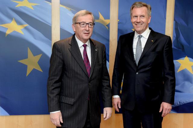 Visite de Christian Wulff, ancien président fédéral de l'Allemagne, à la CE