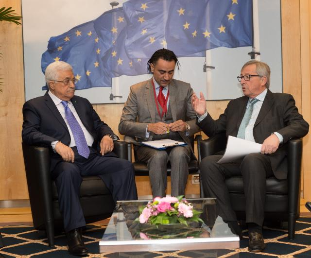 Visit of Mahmoud Abbas, President of the State of Palestine, to the EC