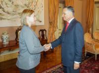Visite de Federica Mogherini, vice-présidente de la CE, au Portugal
