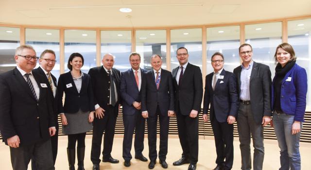 Visit of the Members of the German Bundestag's Health Committee to the EC