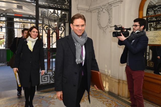 Visit of Jyrki Katainen, Vice-President of the EC, to Paris