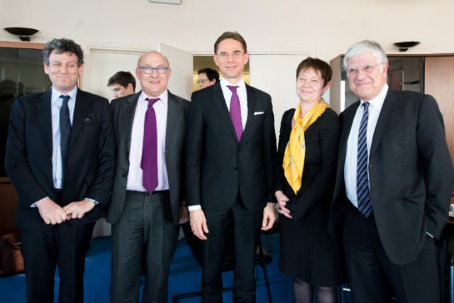 Visit of Jyrki Katainen, Vice-President of the EC, to Paris
