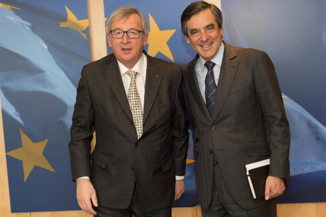 Visit of François Fillon, former French Prime Minister, to the EC
