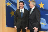 Visit of Manuel Valls, French Prime Minister, to the EC
