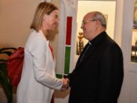 """Illustration of """"Visit of Federica Mogherini, Vice-President of the EC, to Cuba"""""""