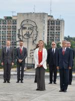 "Illustration of ""Visit of Federica Mogherini, Vice-President of the EC, to Cuba"""