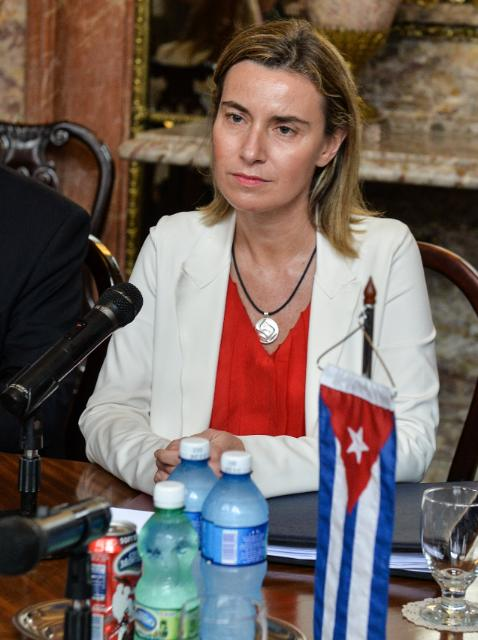 Visit of Federica Mogherini, Vice-President of the EC, to Cuba