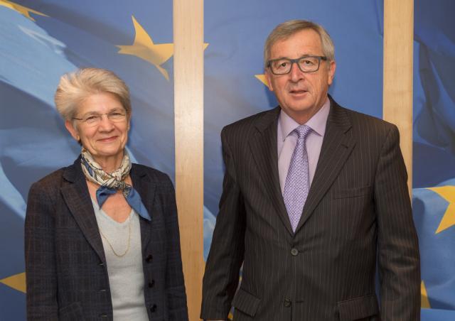 Visit of Bernadette Ségol, General Secretary of the European Trade Union Confederation, to the EC