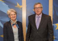 Visit of Bernadette Ségol, General Secretary of the European Trade Union Confederation, to the EC