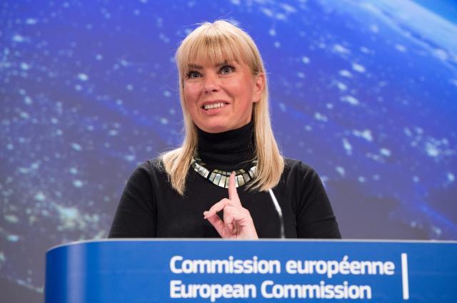 Press conference by Elżbieta Bieńkowska, Member of the EC, on the  launch of two Galileo satellites