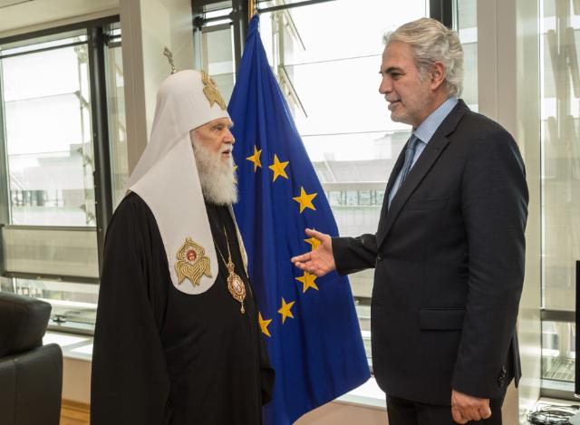 Visit of Philaret, Patriarch of the Ukrainian Orthodox Church of the Kyivan Patriarchate, to the EC