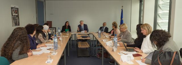 Visite à la CE de représentantes de la Fondation Kvinna till Kvinna et d'une délégation des femmes syriennes