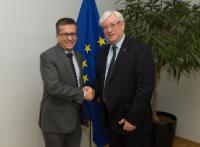 Visite de José Vieira, président de la Feani, à la CE