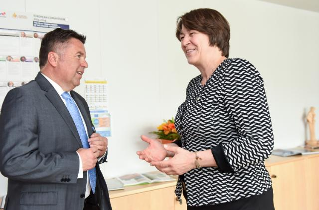 Visit of Hans Mayr, Member of the Regional Government of the Land of Salzburg, to the EC