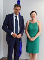 Visit of Giovanni Buttarelli, European Data Protection Supervisor, to the EC