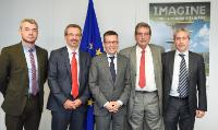 Visit of Rodrigo Martins, Director of CEMOP of the Institute for New Technologies' Development, to the EC