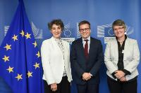 Visit of Ángeles Rodríguez-Peña, President of the COST Committee of Senior Officials, to the EC