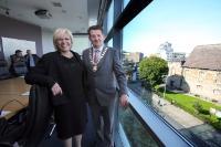 Visite de Corina Creţu et Phil Hogan, membres de la CE, en Irlande