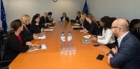 Visit to the EC of representatives of Facebook, Google, Microsoft and Twitter to discuss online hate speech