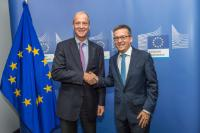 Visit of Thomas Enders, President and CEO of Airbus, to the EC