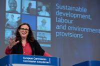 Press conference by Cecilia Malmström, Member of the EC, on the proposed chapter on sustainable development in the TTIP