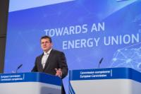 Press conference by Maroš Šefčovič, Vice-President of the EC, on the State of the Energy Union
