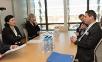 Visite de Joel Kaplan, vice-président de la Politique publique aux Etats-Unis chez Facebook, à la CE