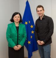 Visit of Max Schrems, Austrian citizen, privacy activist, to the EC