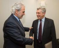 Visit of Filippo Grandi, United Nations High Commissioner for Refugees, to the EC