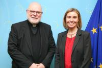 Visit of Reinhard Marx, Archbishop of Munich and Freising, to the EC