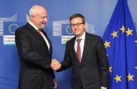 Visit of Pierre Meulien, Executive Director of IMI, to the EC