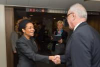 Visit of Michaëlle Jean, Secretary General of the Organisation internationale de la Francophonie, to the EC
