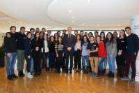 Visite d'un groupe de Chypriotes grecs et turcs participant au programme