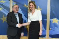 Visit of Silvana Koch-Mehrin, co-Founder and CEO of the WIP Global Forum, to the EC