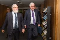 Visit of Pim van Ballekom, Vice-President of the EIB, to the EC