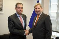 Visit of Imad Fakhoury, Jordanian Minister for Planning and International Cooperation,  to the EC