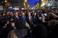 Participation de Jean-Claude Juncker, président de la CE, à l'hommage rendu aux victimes des attentats terroristes à Bruxelles