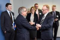 Visit of Per Sandberg, Norwegian Minister for Fisheries, to the EC