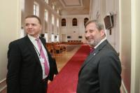 Visit of Johannes Hahn, Member of the EC, to the Czech Republic