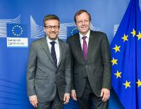 Visit of Jan Woerner, Director General of the European Space Agency (ESA), to the EC