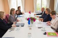 Visit of Federica Mogherini, Vice-President of the EC, to Oslo