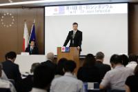 Visite de Valdis Dombrovskis, vice-président de la CE, au Japon