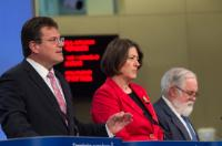 Joint press conference by Maroš Šefčovič, Vice-President of the EC, Miguel Arias Cañete and Violeta Bulc, Members of the EC, on a package of measures to accelerate the transition to low-carbon emissions in all sectors of the economy in Europe