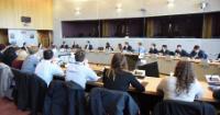 Visite des représentants de l'EUPAS (European Pupils Association), à la CE