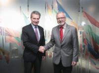 Visit by Günther Oettinger, Member of the EC, to Luxembourg