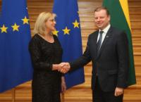 Visit of Corina Creţu, Member of the EC, to Lithuania
